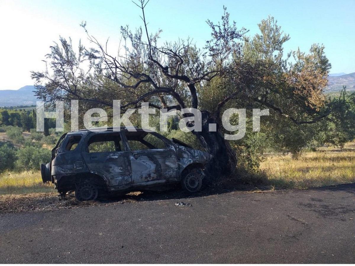 Φωτιά σε αυτοκίνητο στην Κόρινθο: Ο ιερέας της Αλμυρής ο άνδρας που βρέθηκε απανθρακωμένος