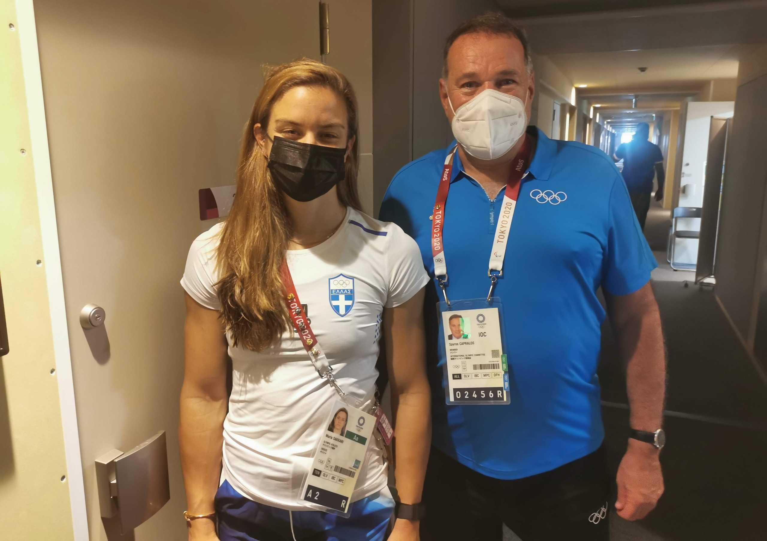 Ολυμπιακοί Αγώνες: Συναντήθηκε με Σάκκαρη και Κορακάκη ο Καπράλος