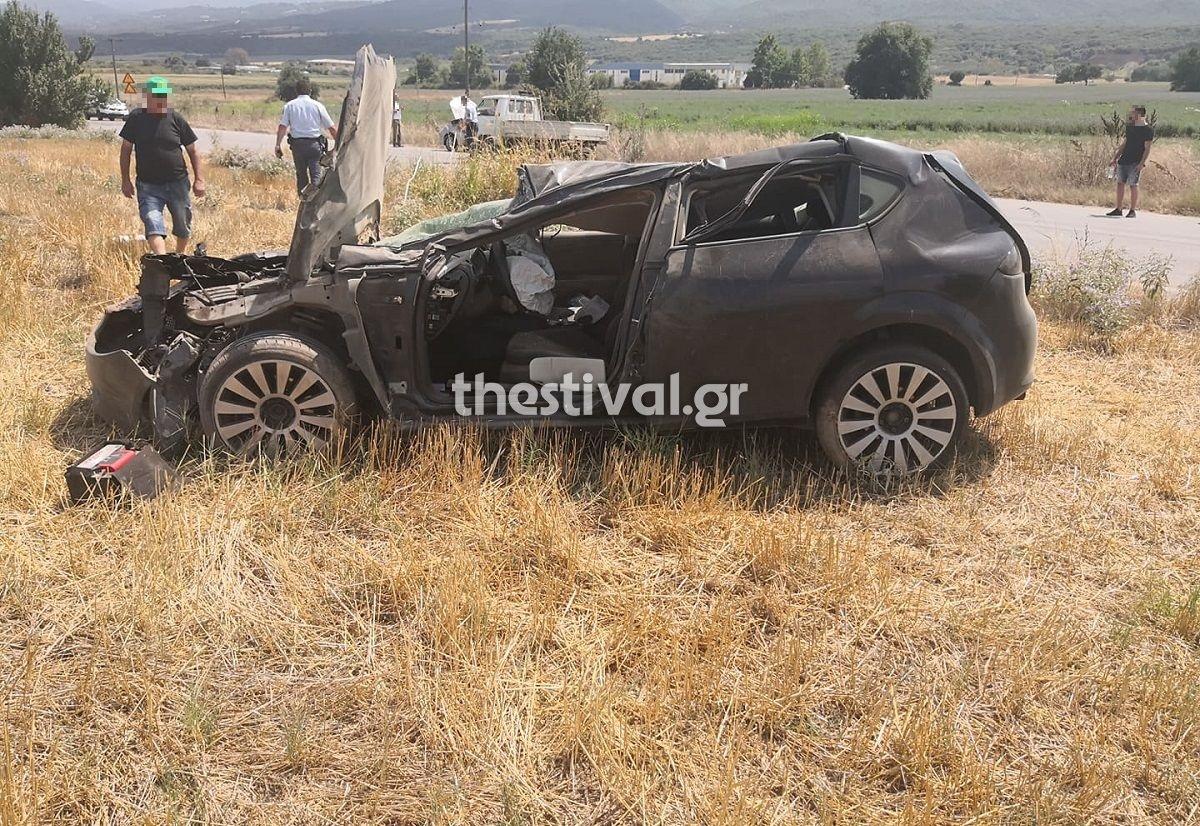 Θεσσαλονίκη: Καραμπόλα με τρεις τραυματίες – Στο ίδιο σημείο έγινε τροχαίο το πρωί με δυο νεκρούς