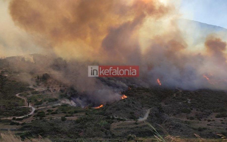 Κεφαλονιά: Ενεργοποιήθηκε η υπηρεσία Copernicus για την χαρτογράφηση της περιοχής που κάηκε