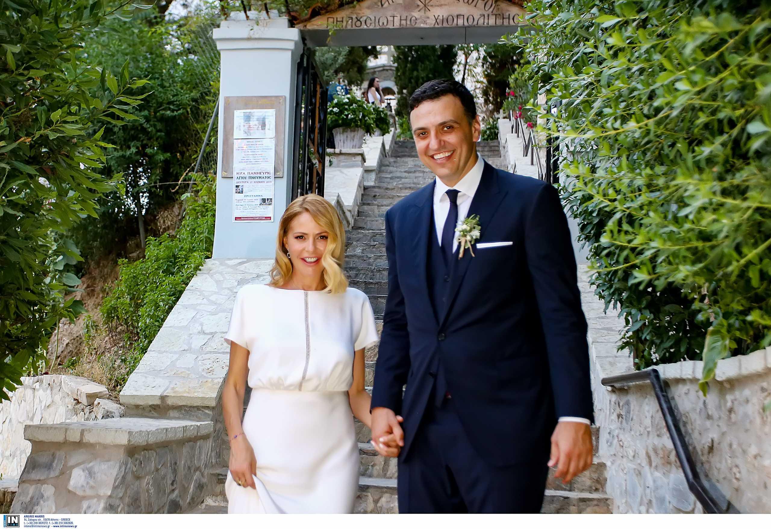 Βασίλης Κικίλιας και Τζένη Μπαλατσινού