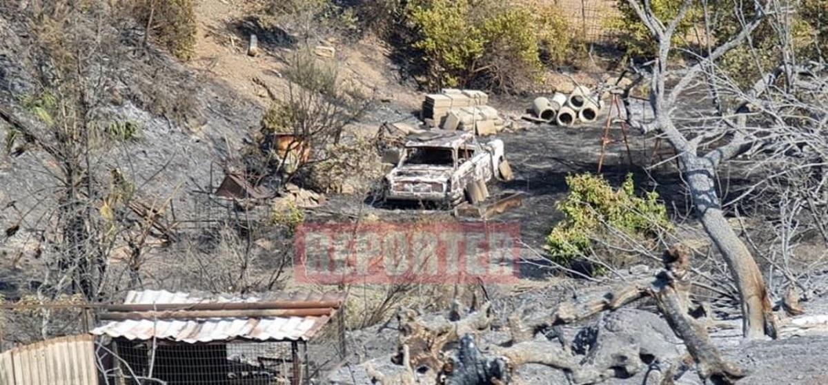 Κύπρος: Συγκλονιστικές εικόνες από την καταστροφική πυρκαγιά – Υπό έλεγχο το μέτωπο