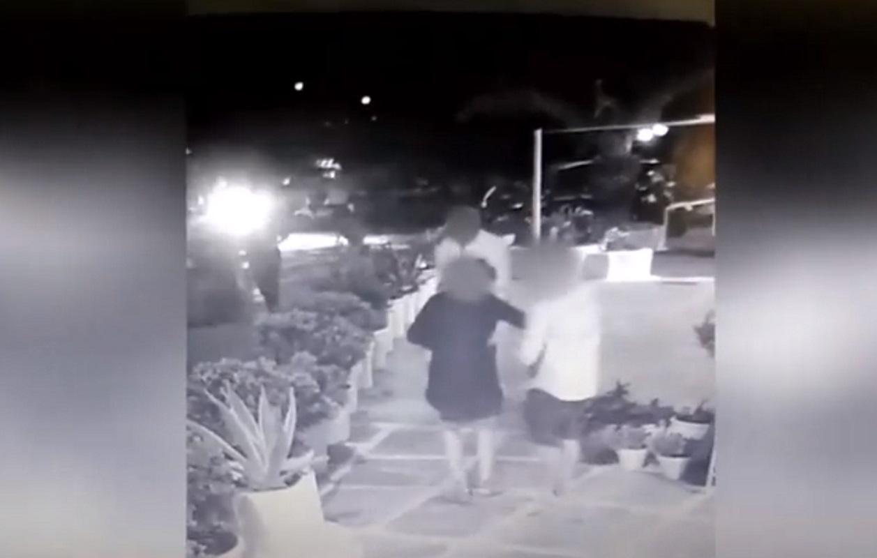 Μύκονος: Κακοποιός παριστάνει τον μεθυσμένο και κλέβει πανάκριβο ρολόι από τουρίστρια – Απίστευτο βίντεο