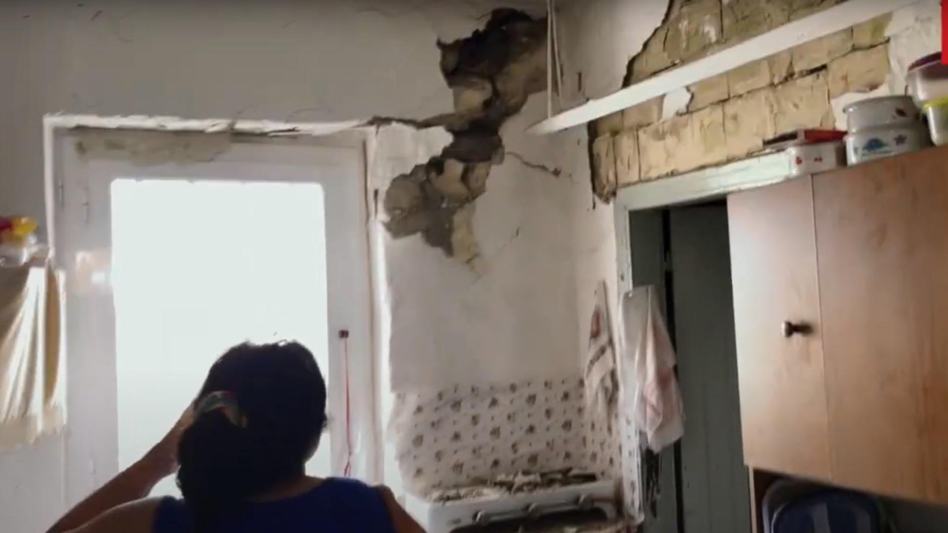 Σεισμός Κρήτη: Καταστροφές σε σπίτια στον οικισμό Σαμπά – Βίντεο με μαρτυρίες
