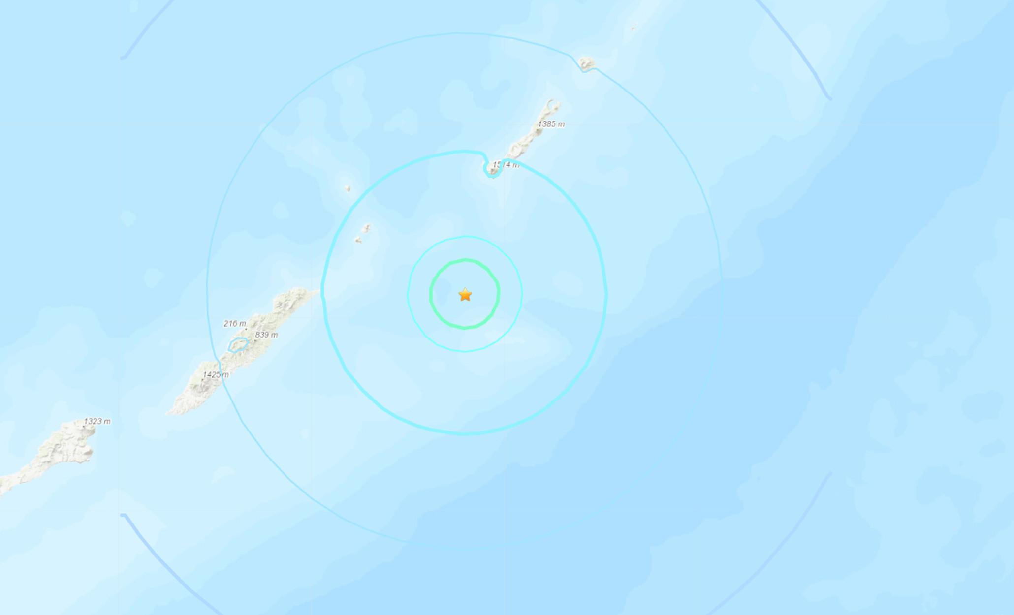 Σεισμός 5,6 Ρίχτερ στις Κουρίλες νήσους