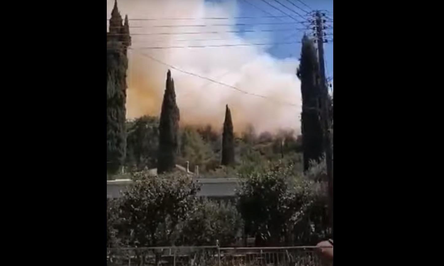 Κύπρος: Φωτιά στο Πέρα Πεδί Λεμεσού – Απειλήθηκαν σπίτια
