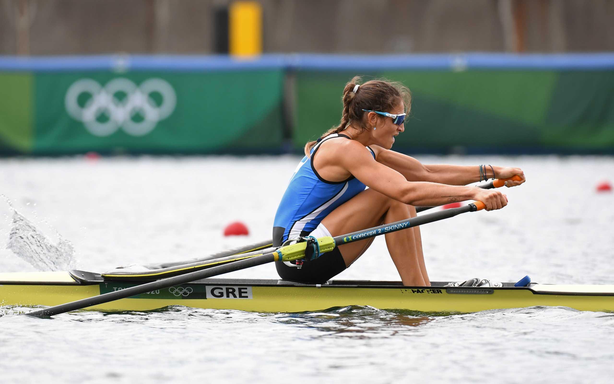 Ολυμπιακοί Αγώνες – Κωπηλασία: Η Αννέτα Κυρίδου κατέλαβε τη 10η θέση