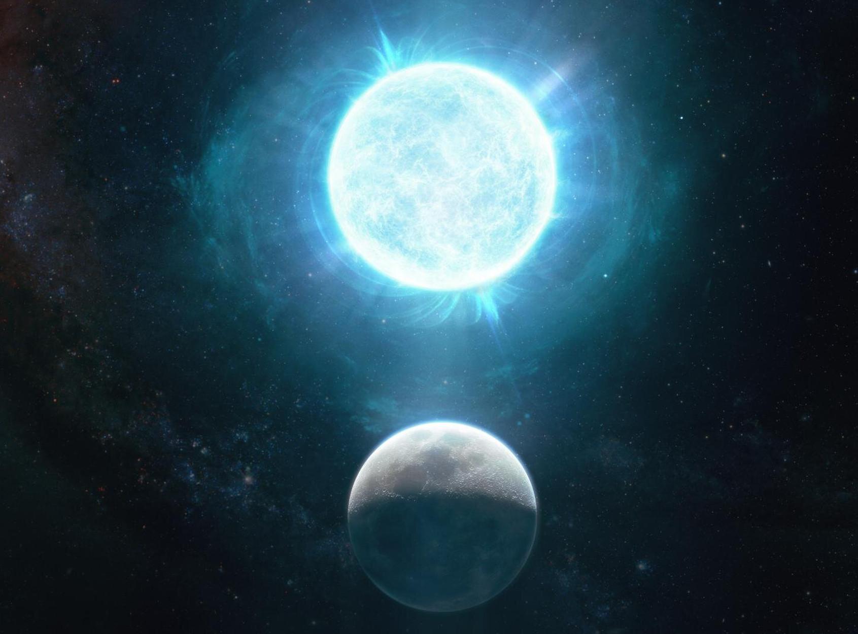Βρέθηκε το μικρότερο άστρο – λευκός νάνος! Μέγεθος σελήνης και μάζα… μεγαλύτερη απ' τον ήλιο (pic)