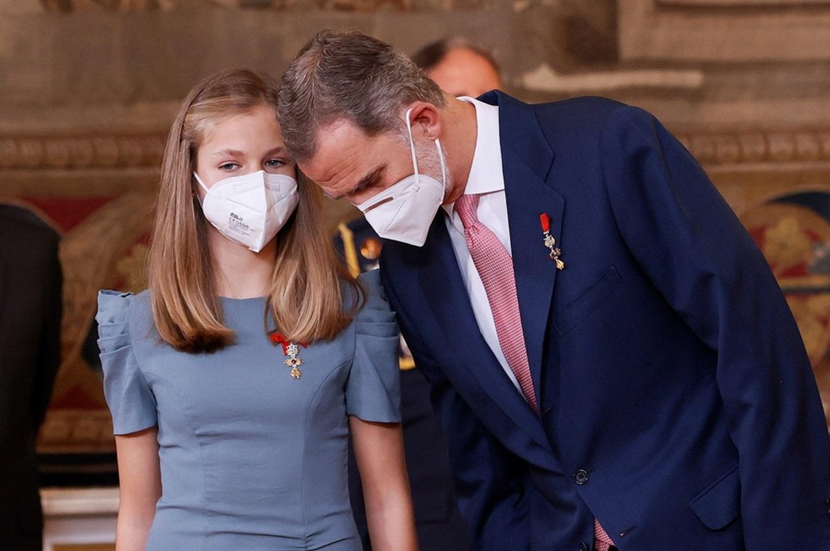 Η μελλοντική βασίλισσα της Ισπανίας, η 15χρονη Λεονόρ, έκανε το εμβόλιο κατά του κορονοϊού