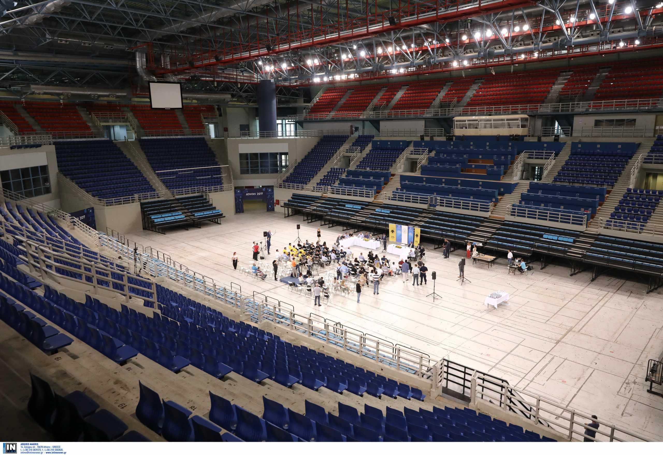 Η ΑΕΚ ετοιμάζει τα Λιόσια: Εικόνες μέσα από το νέο γήπεδο