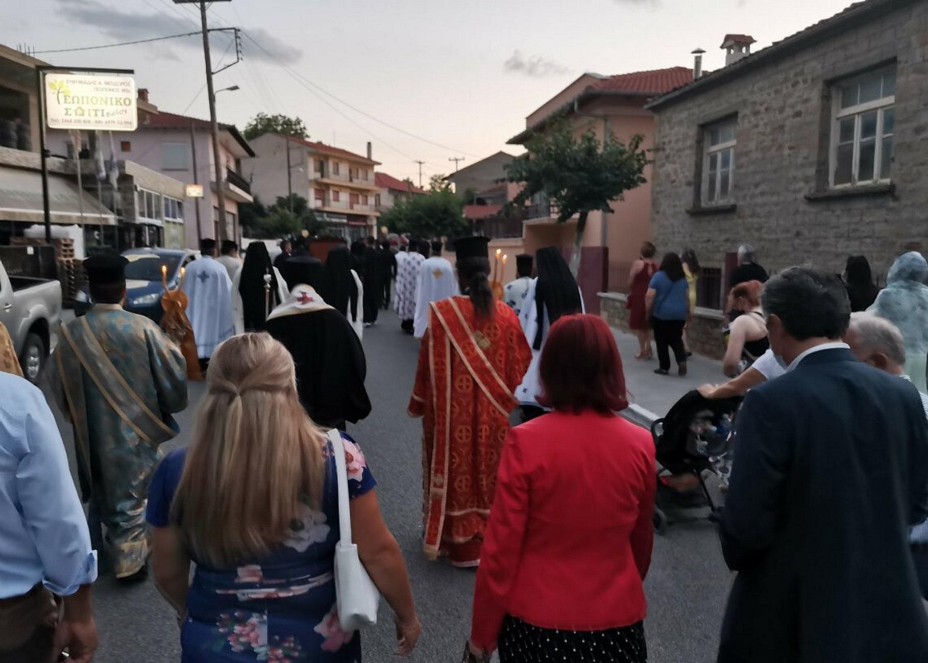Κοζάνη: Πρόστιμο στον ιερέα για τη λιτανεία εικόνας της Αγίας Μαρίνας – Οι παρουσίες που συζητήθηκαν