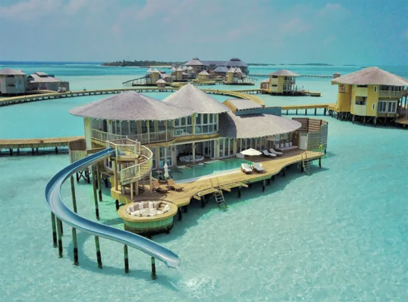 Ένα θέρετρο στις Μαλδίβες που πραγματικά μοιάζει με παράδεισο