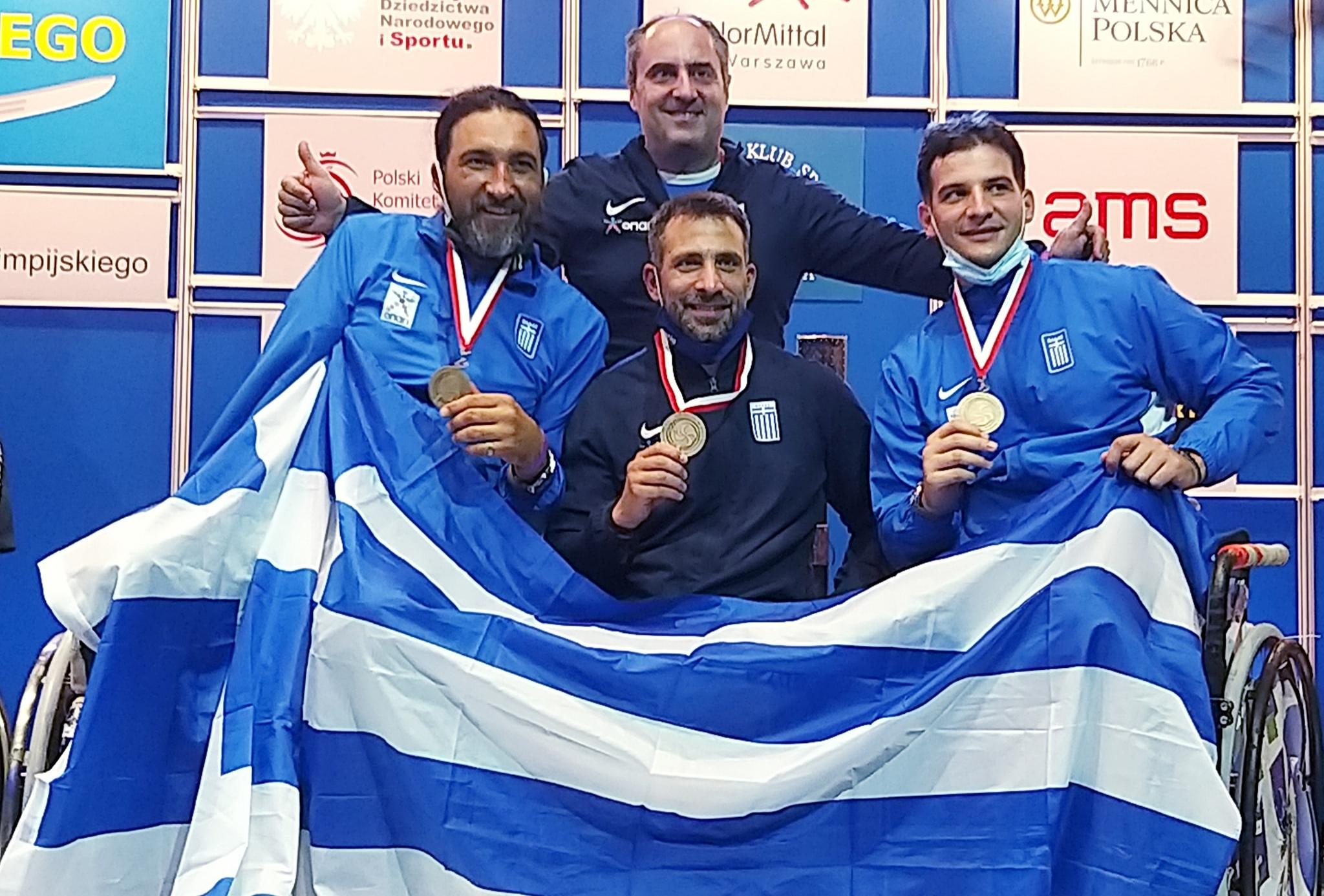 Χάλκινο μετάλλιο για την Ελλάδα στο ομαδικό σπάθης