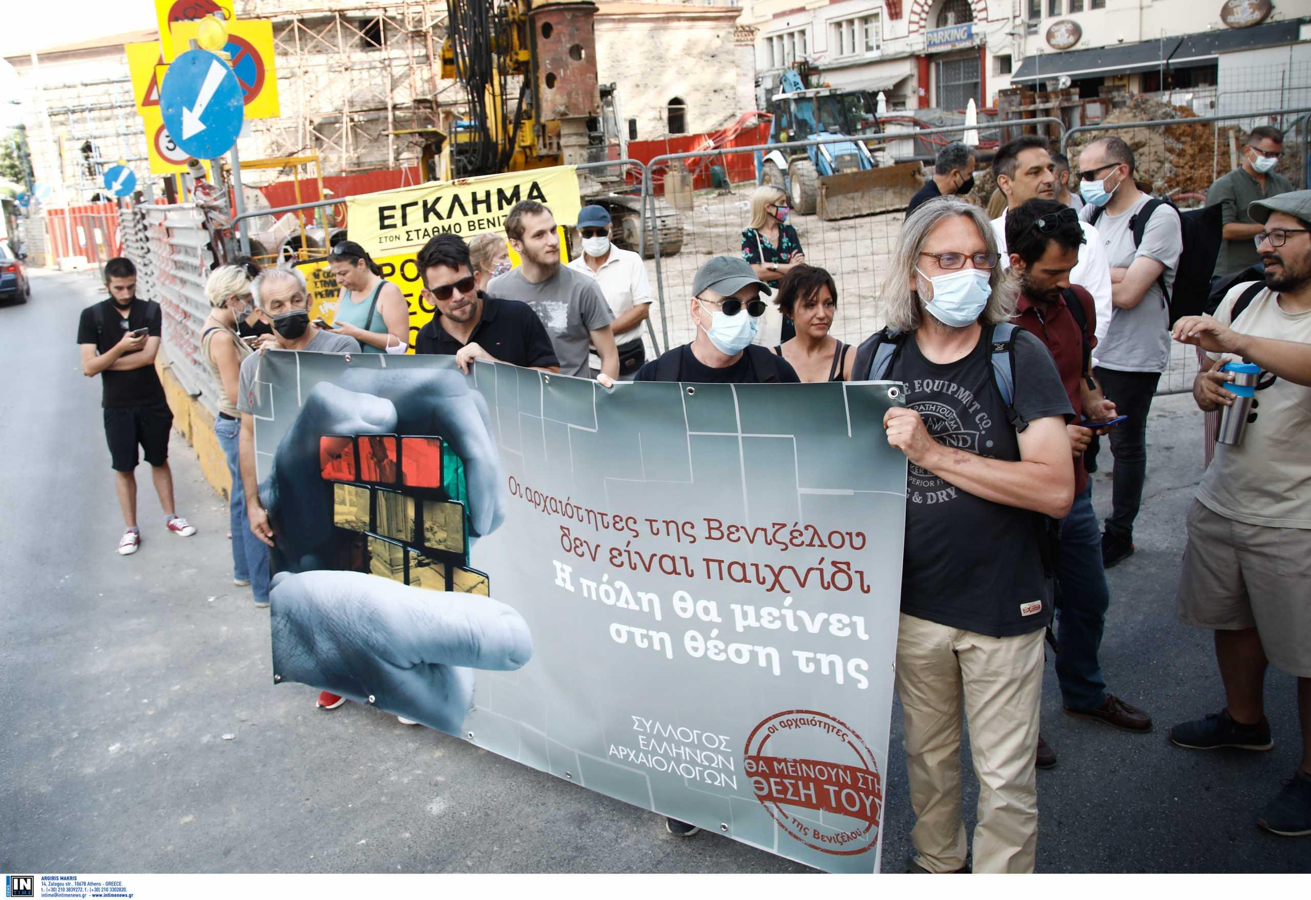 Μετρό Θεσσαλονίκης: Αρχαιολόγοι και βουλευτές του ΣΥΡΙΖΑ ξεσπούν για την απόσπαση αρχαιοτήτων