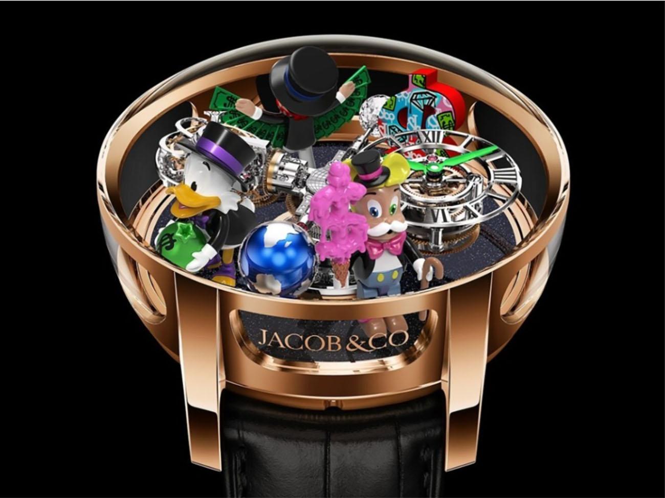 Ένα ρολόι 600.000 δολαρίων με θέμα το επιτραπέζιο παιχνίδι Monopoly