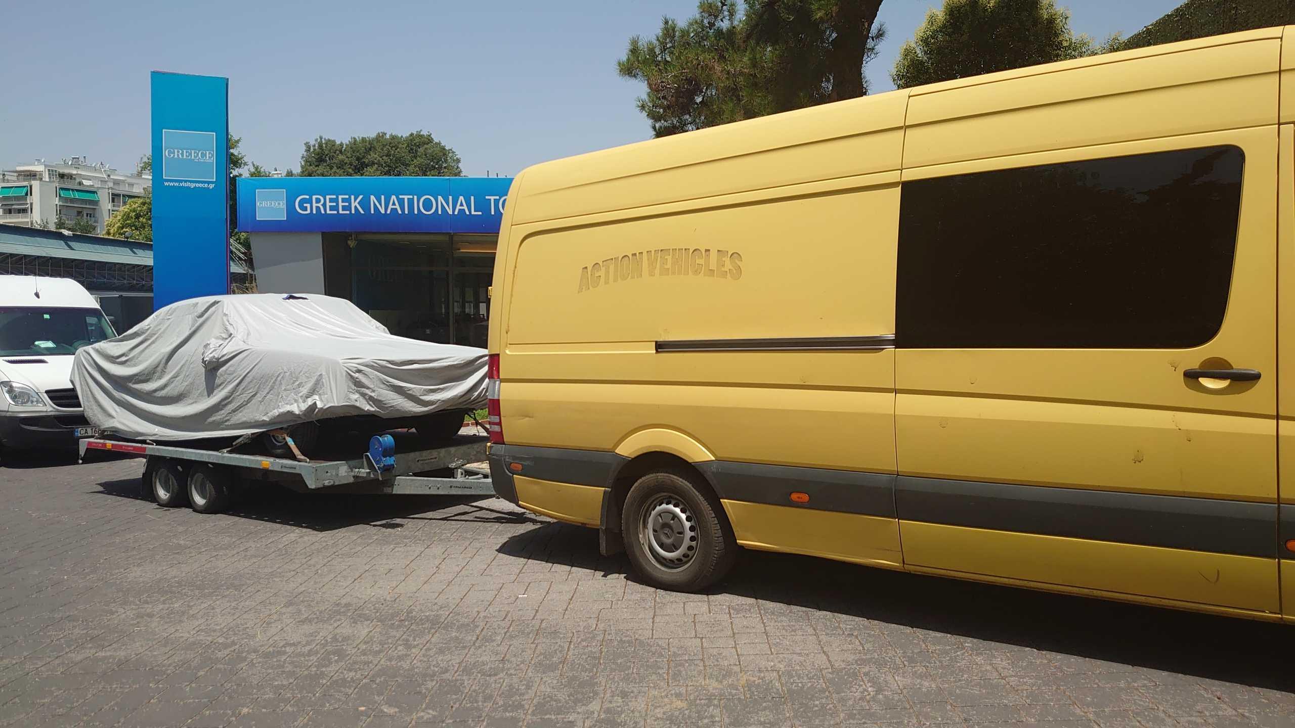 """Αντόνιο Μπαντέρας: Τα νέα γυρίσματα της ταινίας """"The Enforcer"""" στο λιμάνι της Θεσσαλονίκης"""