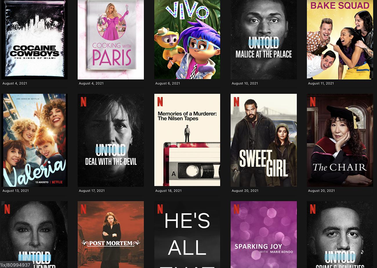 Netflix: Νέες σειρές και ντοκιμαντέρ που έρχονται τον Αύγουστο