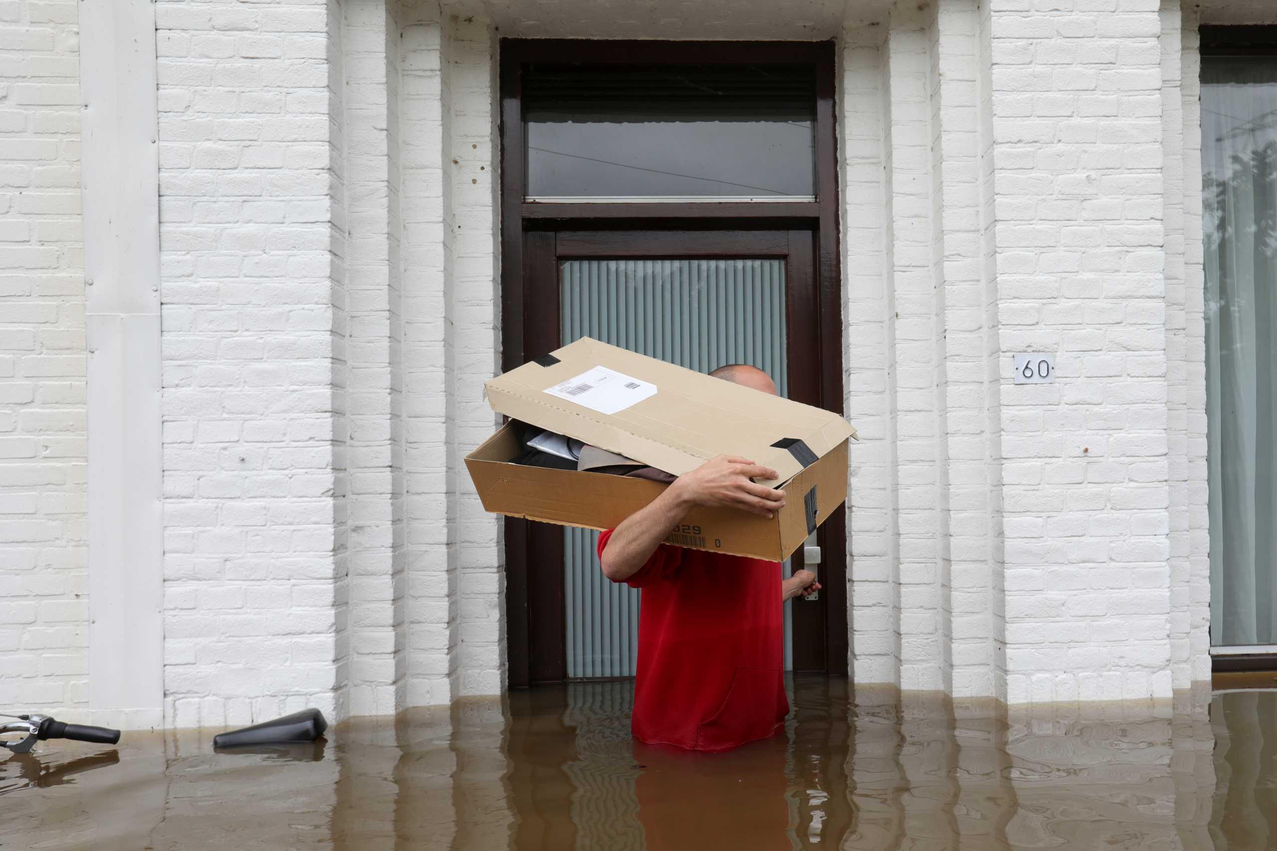 Ολλανδία: Σε κατάσταση συναγερμού λόγω υπερχείλισης των ποταμιών