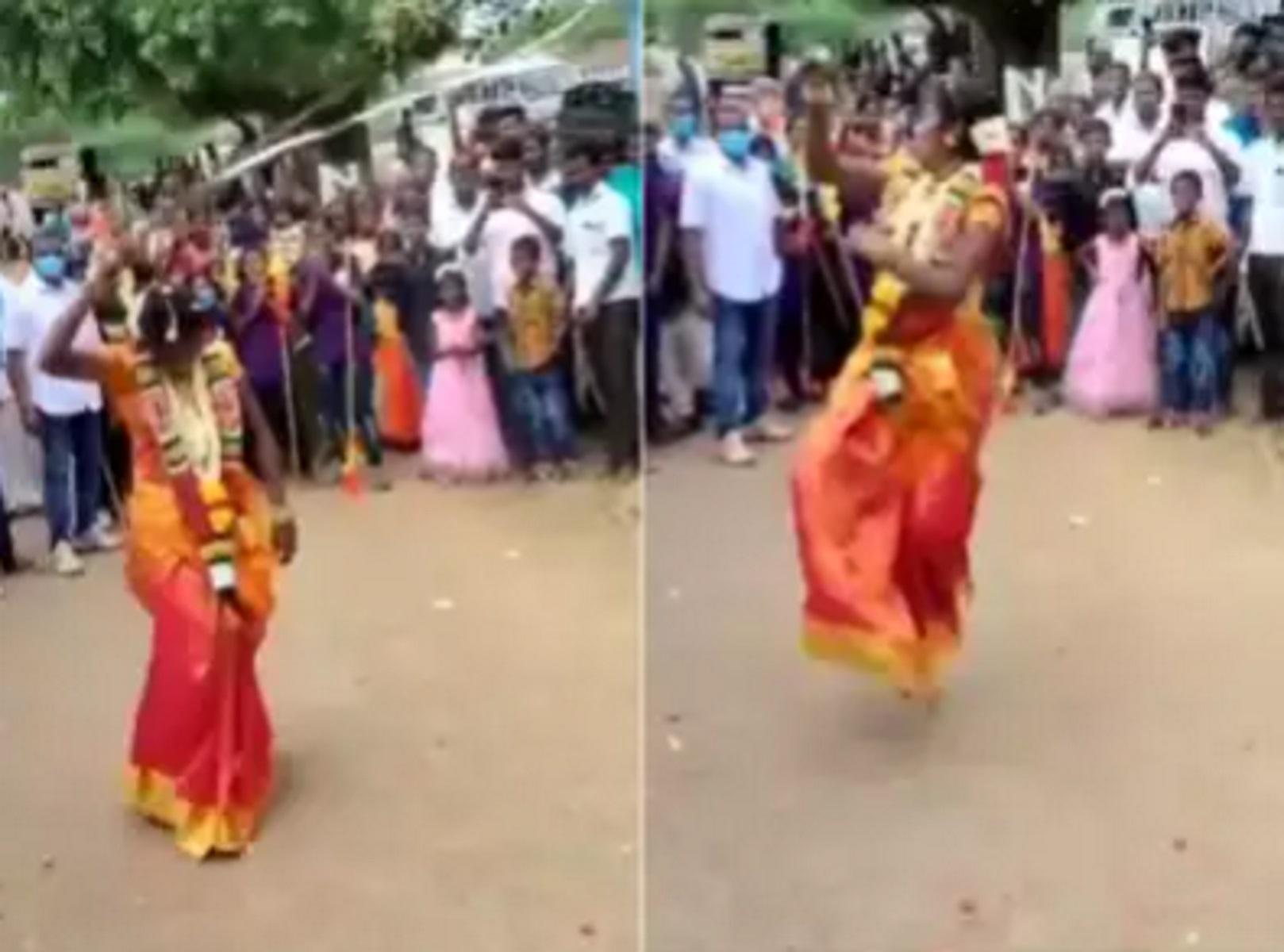 Η νύφη αντί να χορέψει παρουσίασε πολεμικές τέχνες