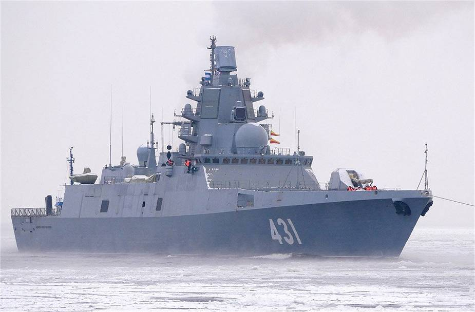 Zirkon: Η φρεγάτα Admiral Golovko εξοπλίζεται πρώτη με τους υπερηχητικούς πυραύλους