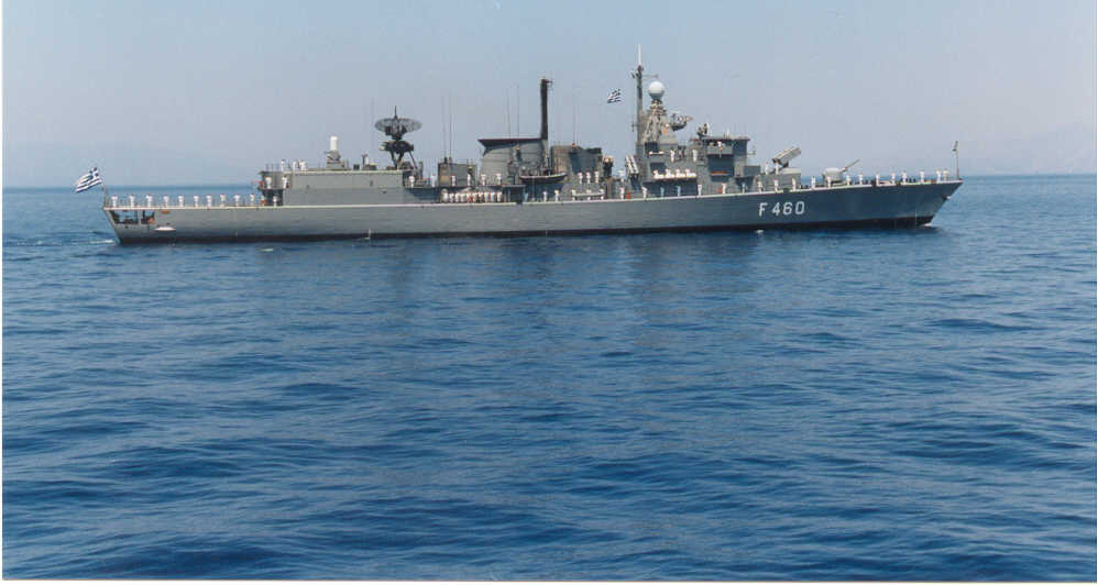 Συναγερμός στο Πολεμικό Ναυτικό: Κρούσματα κορονοϊού σε φρεγάτα!