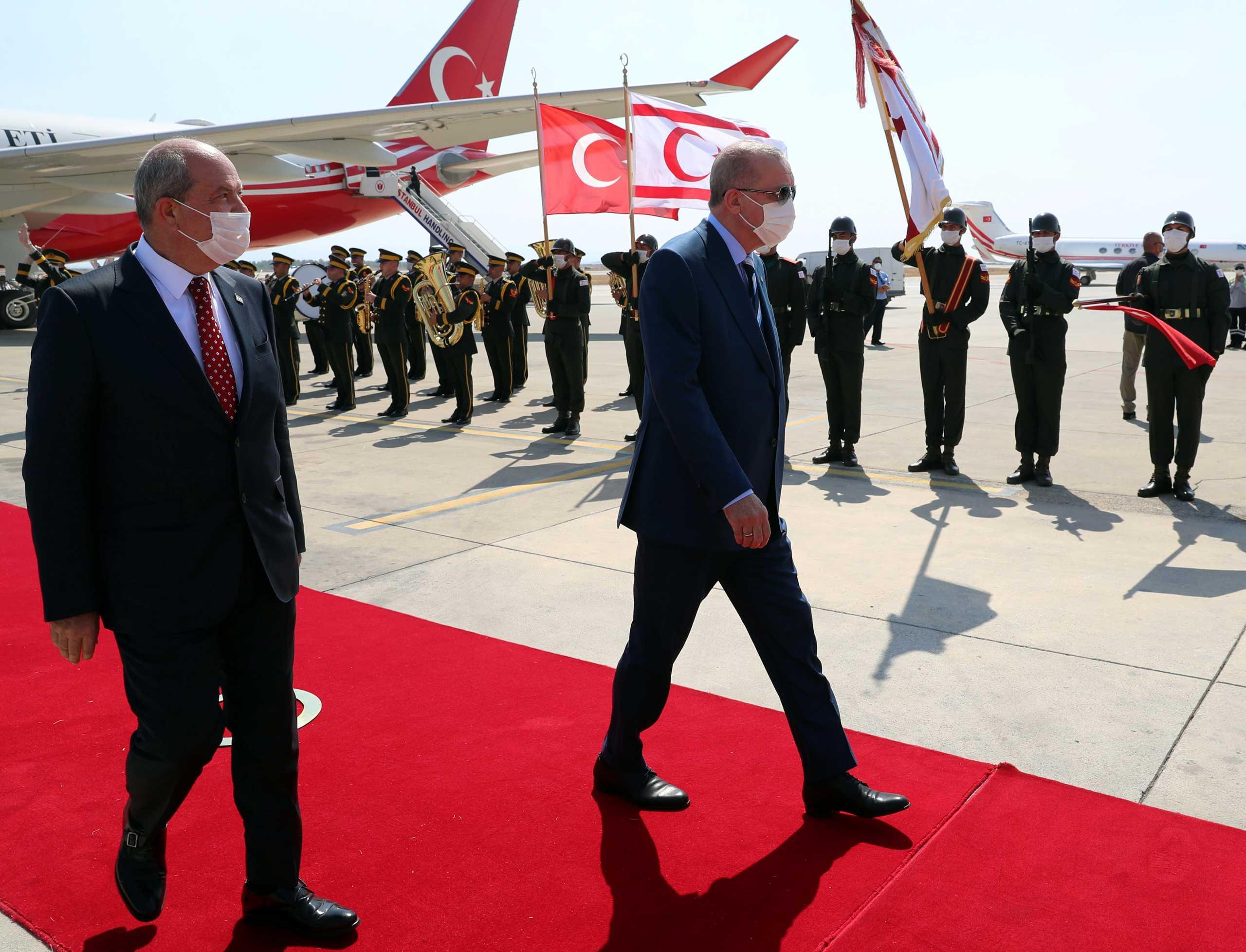 Κύπρος: Το σημερινό πρόγραμμα του Ερντογάν στα Κατεχόμενα