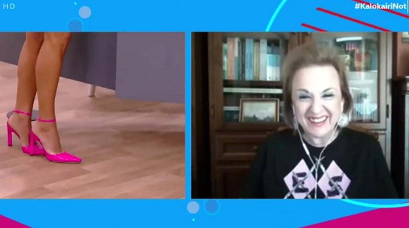 Ματίνα Παγώνη: Επική στιχομυθία με την Ελένη Τσολάκη στον αέρα του OPEN