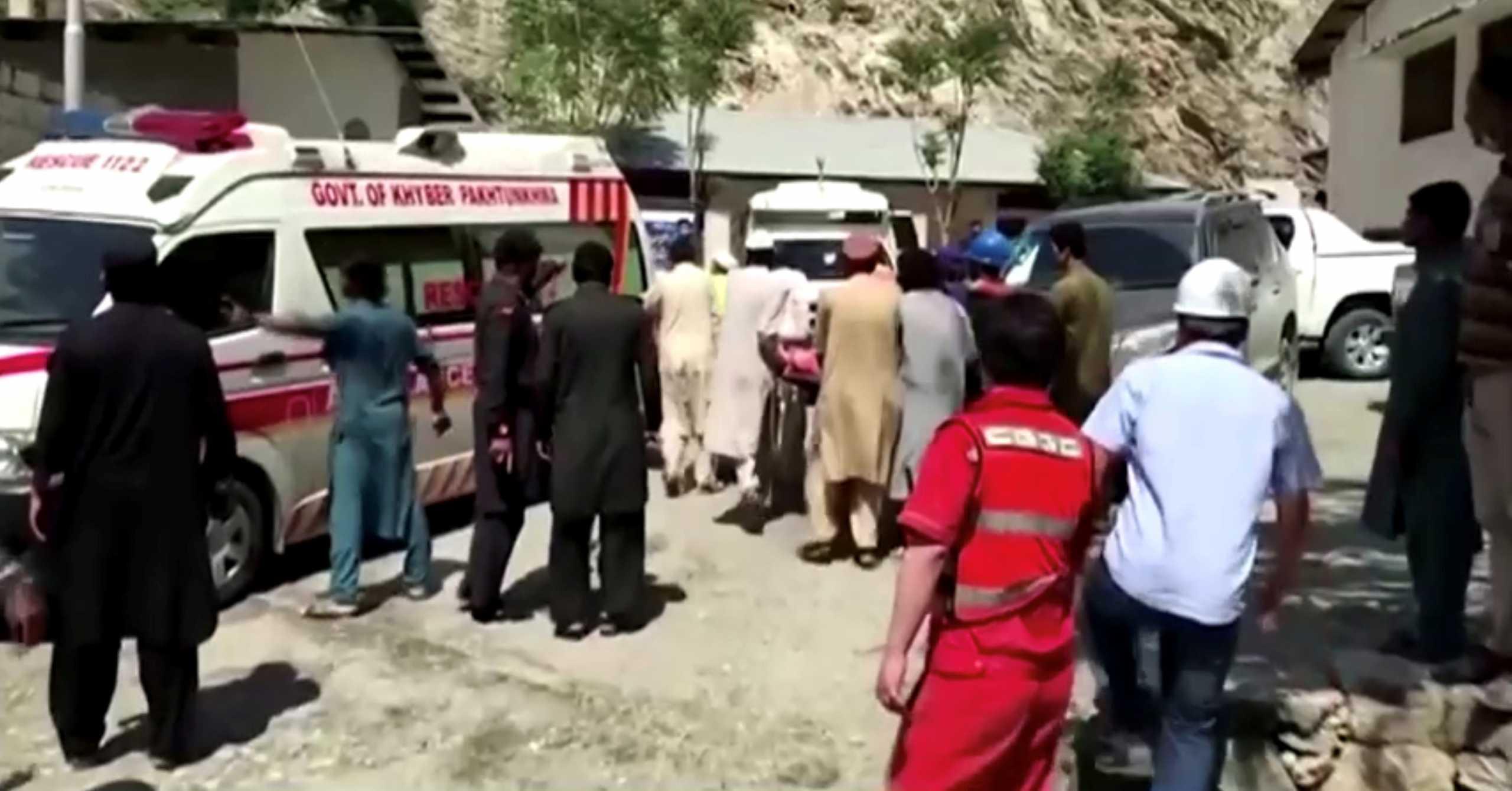 Πακιστάν: Έκρηξη σε λεωφορείο – 13 νεκροί ανάμεσά τους 9 Κινέζοι
