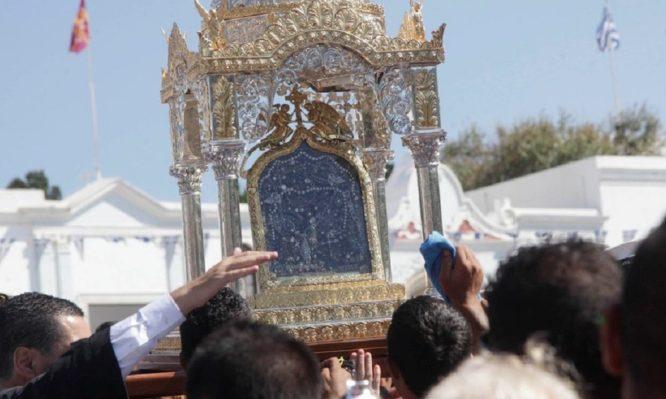 Αγία Πελαγία: Πώς ανακάλυψε που ήταν θαμμένη η εικόνα της Παναγίας της Τήνου