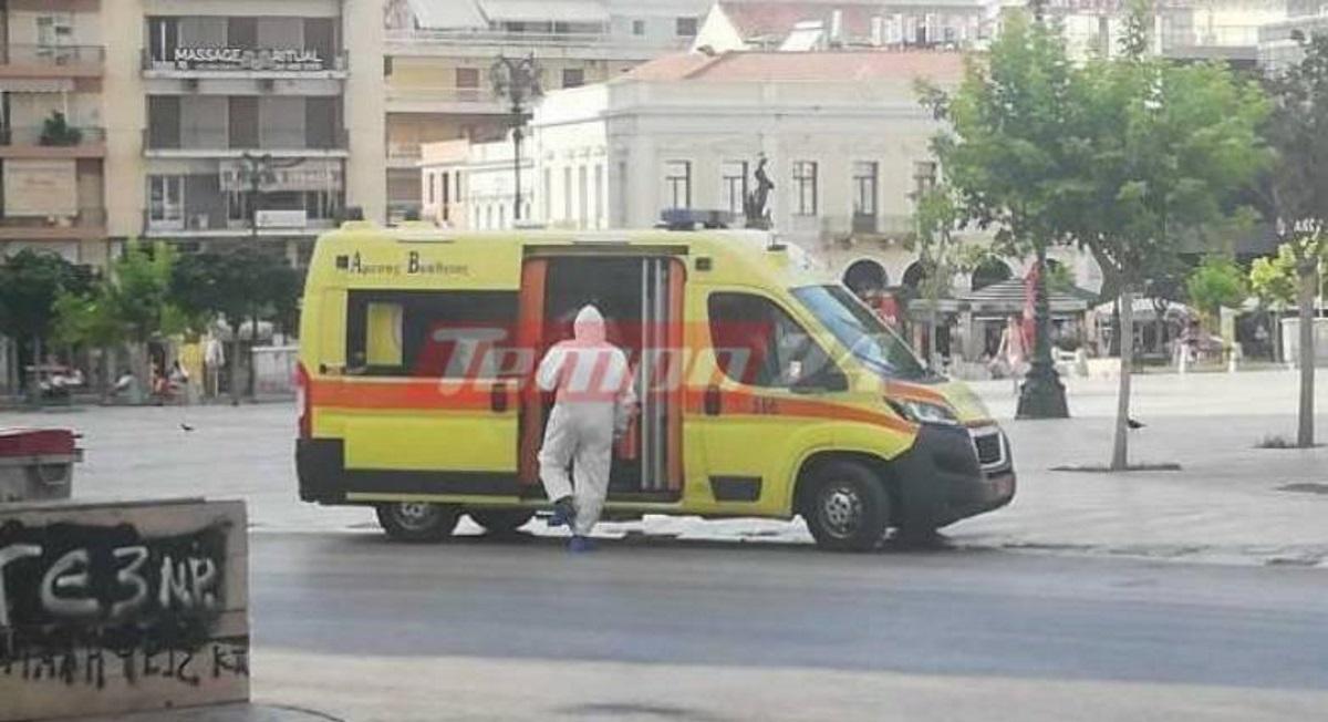Πάτρα: Συναγερμός για τουρίστες θετικούς στον κορονοϊό – Μεγάλη κινητοποίηση για την μεταφορά τους στο νοσοκομείο