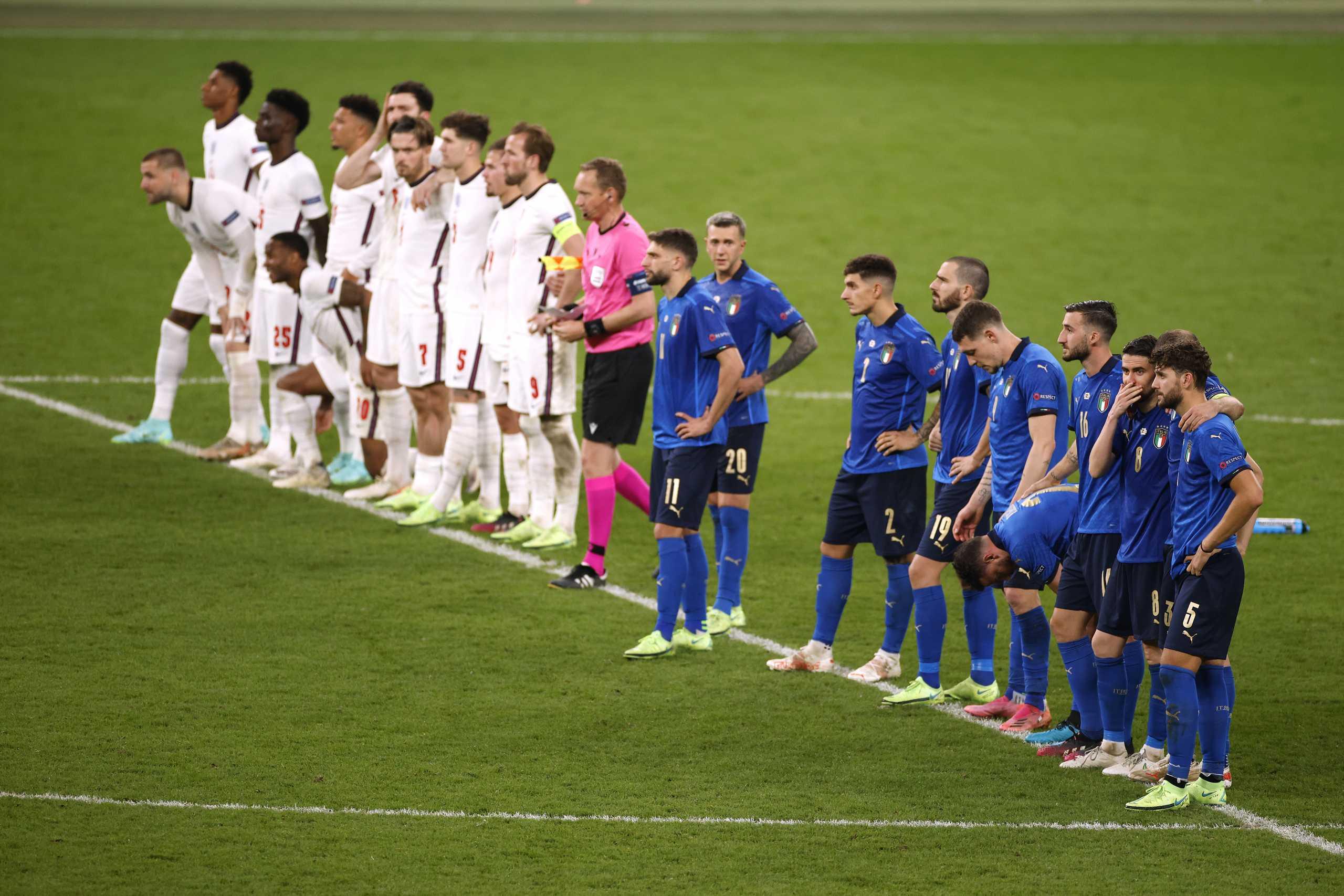 Euro 2020, Ιταλία – Αγγλία 1-1 και 3-2 ΤΕΛΙΚΟ: Πρωταθλητές στα πέναλτι οι Ιταλοί