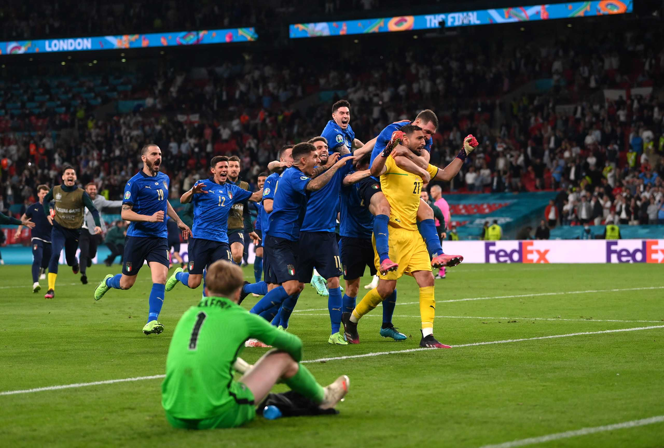 Υπερδιασπορά κορονοϊού από τον τελικό του Euro 2020