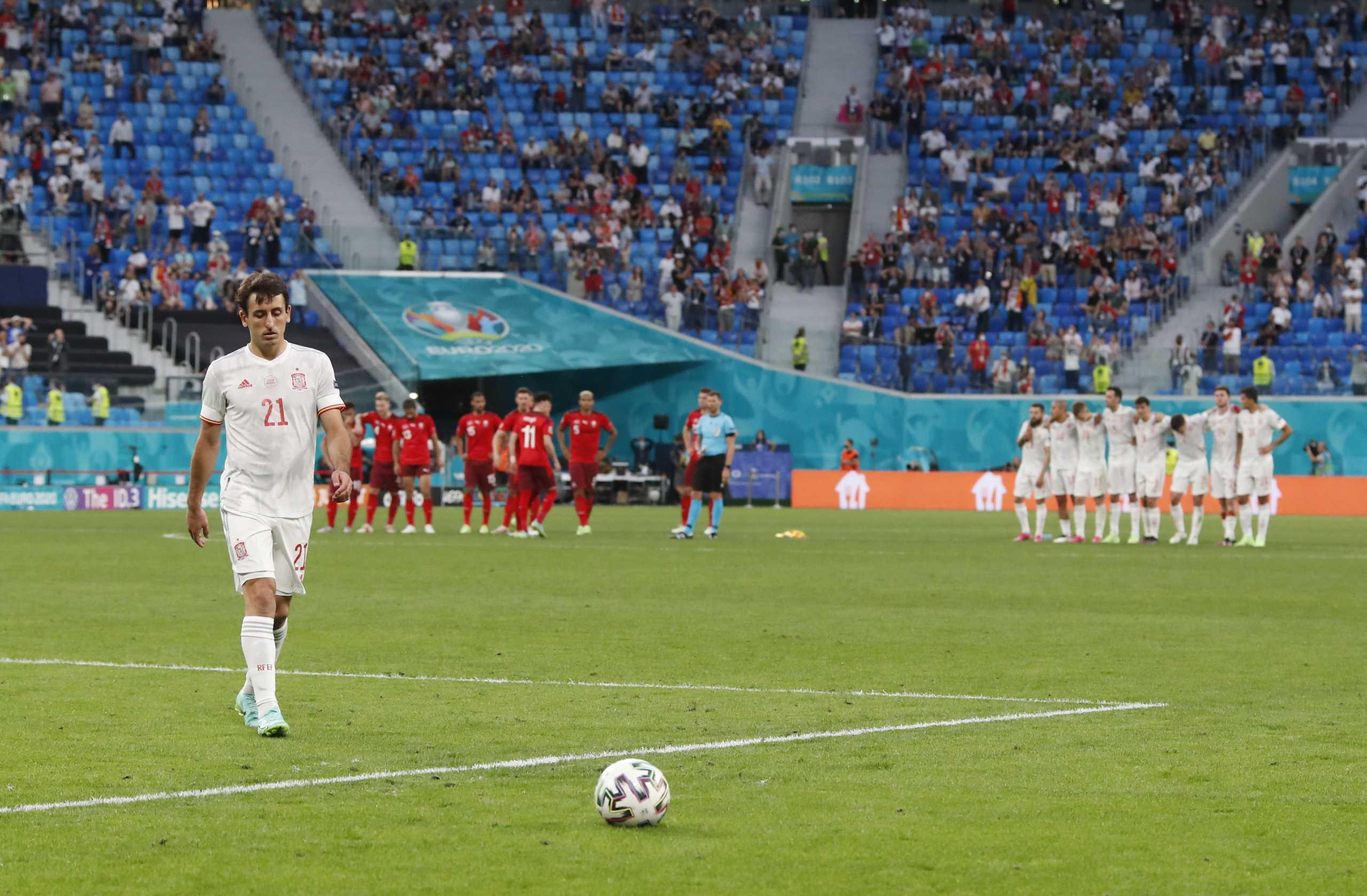 Euro 2020: Δέκα εκατομμύρια Ισπανοί είδαν το πέναλτι του Ογιαρθάμπαλ