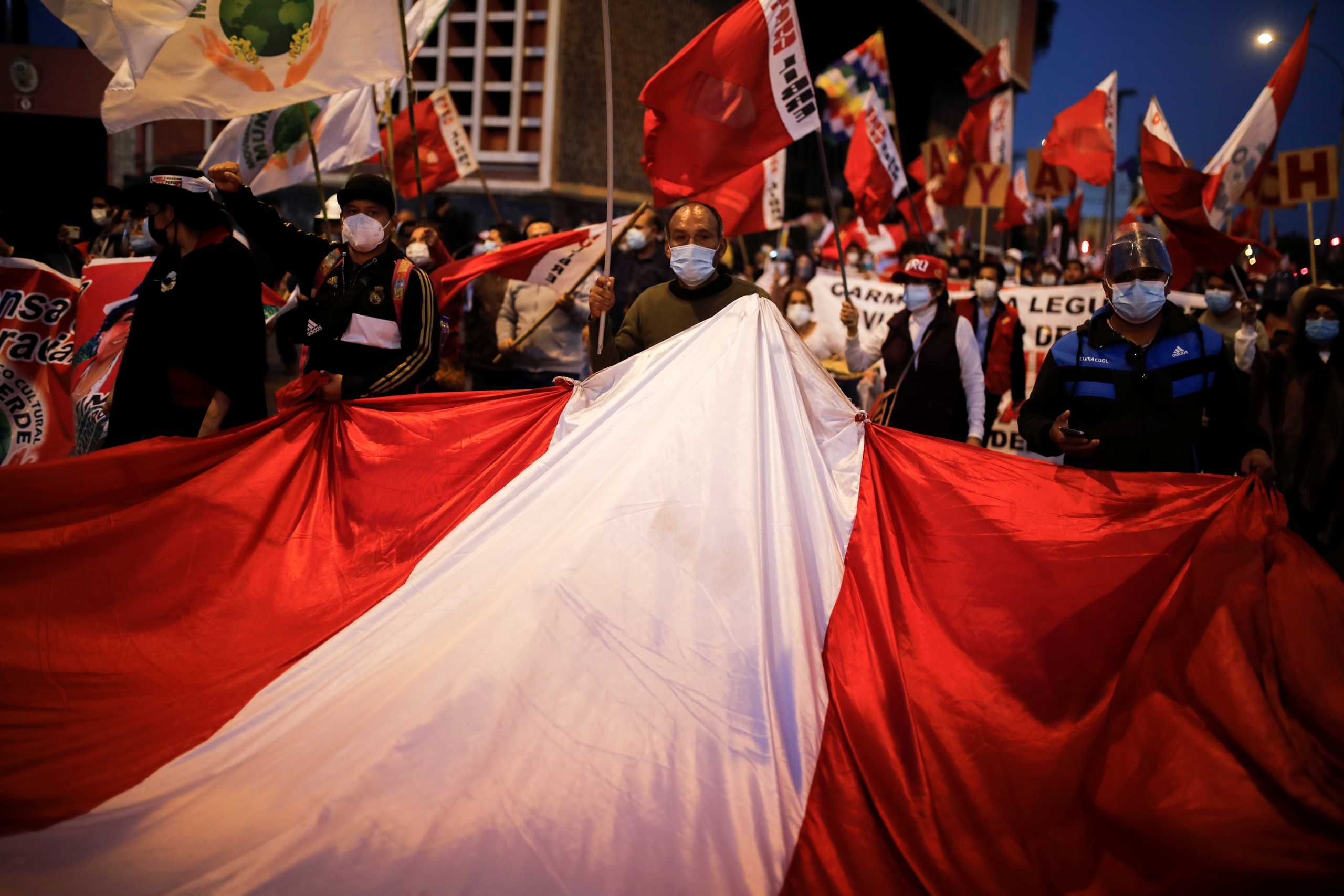 Το Περού ένα μήνα μετά τις εκλογές… δεν έχει πρόεδρο!