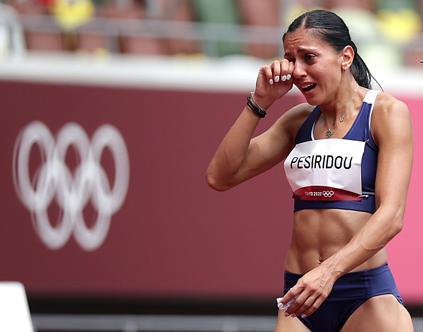 Ολυμπιακοί Αγώνες: Η απογοήτευση της Ελισάβετ Πεσιρίδου για τον τραυματισμό, «δεν μπορώ να το πιστέψω»