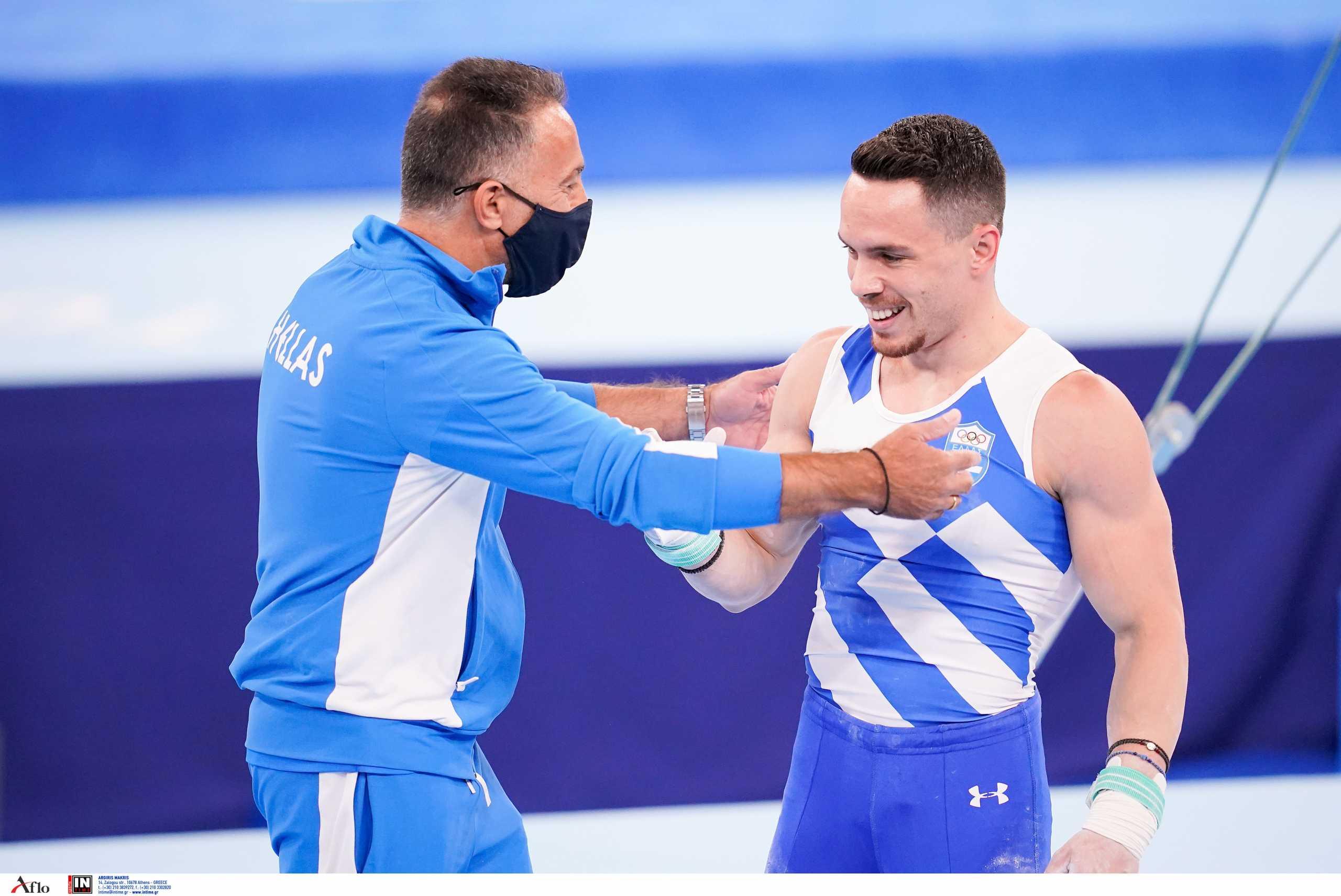 Ολυμπιακοί Αγώνες – Προπονητής Πετρούνια: «Ο Λευτέρης έχει κρατήσει για τον τελικό το καλύτερο πρόγραμμα της ζωής του»