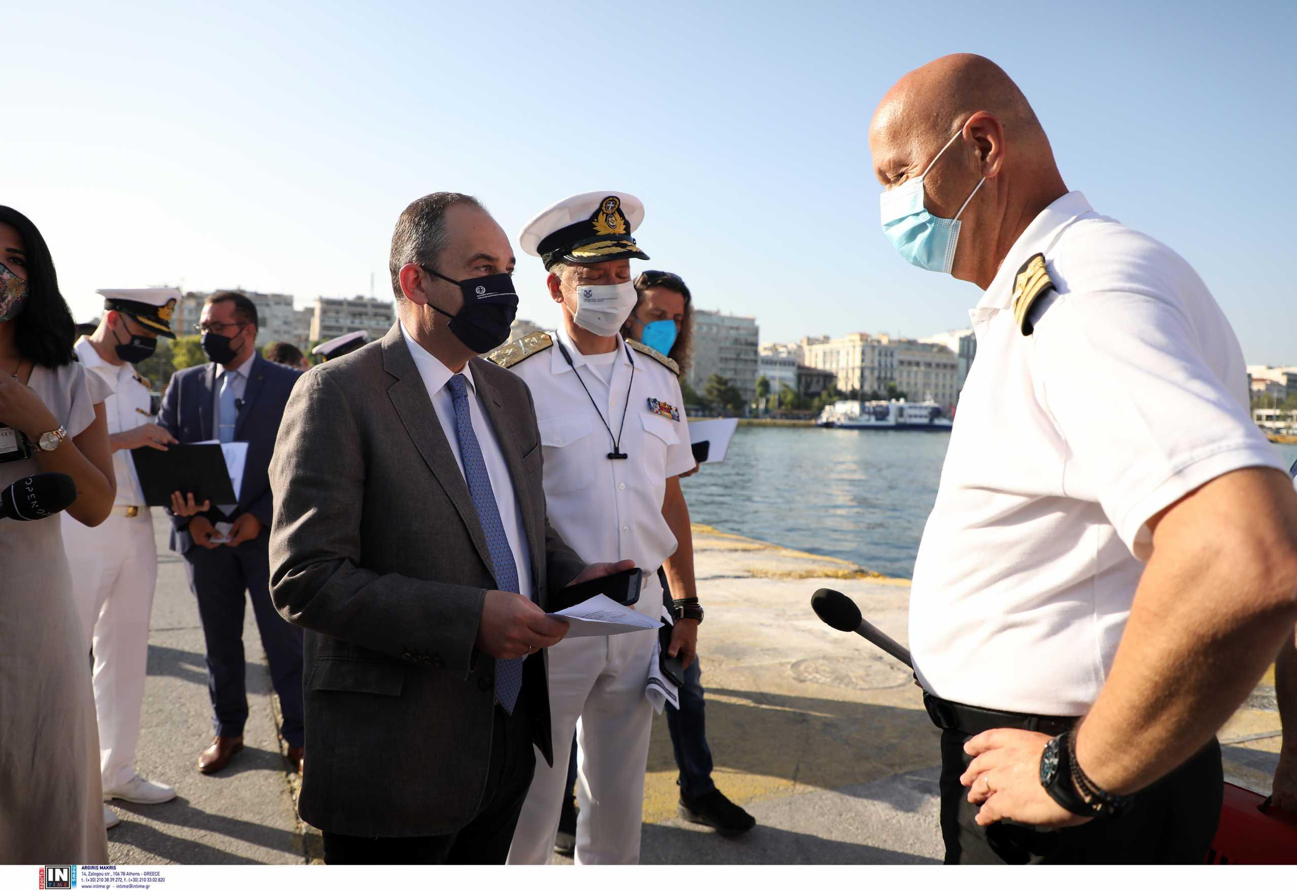 Πλακιωτάκης για ελέγχους στα πλοία: Δεν έχουμε τιμωρητική διάθεση