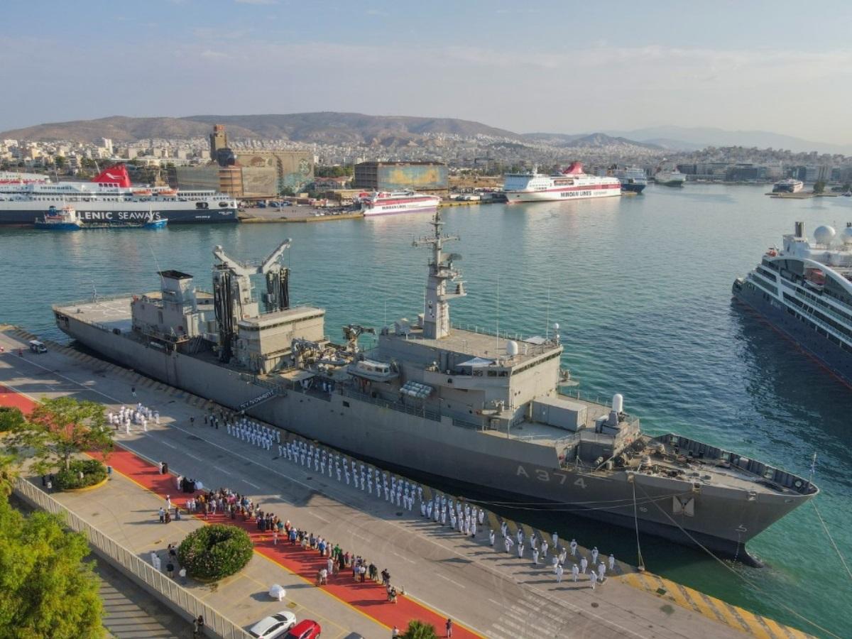 Πολεμικό Ναυτικό: Ξεκίνησε η θερινή εκπαίδευση της Σχολής Ναυτικών Δοκίμων