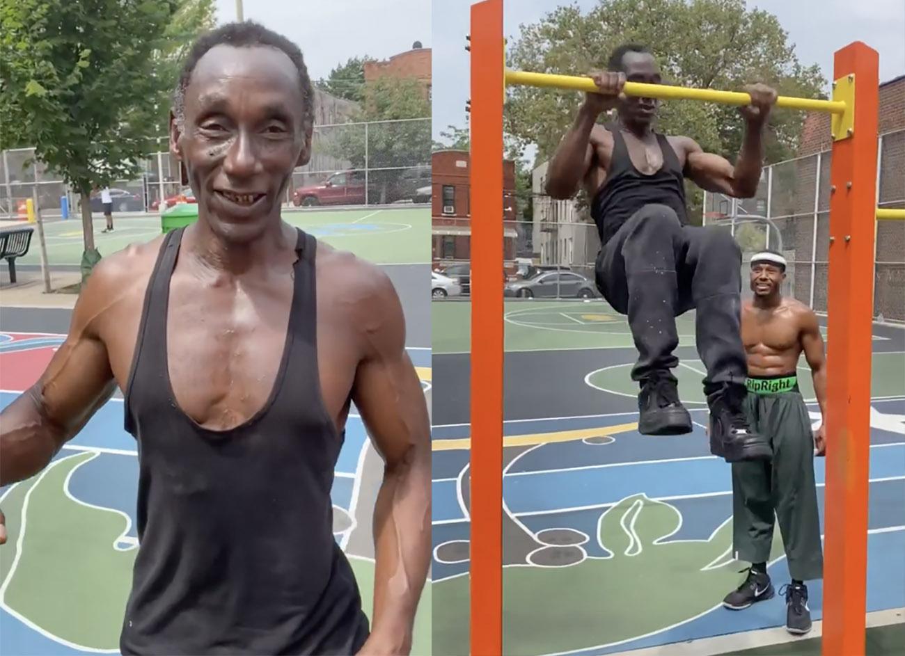 Αυτός ο 64χρονος ακολουθεί την πιο τρελή προπόνηση που έχεις δει