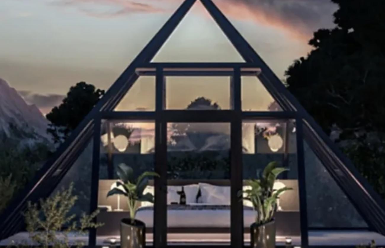 Πως θα σας φαινόταν να μείνετε σε μια γυάλινη πυραμίδα στον Γκραντ Κάνυον;