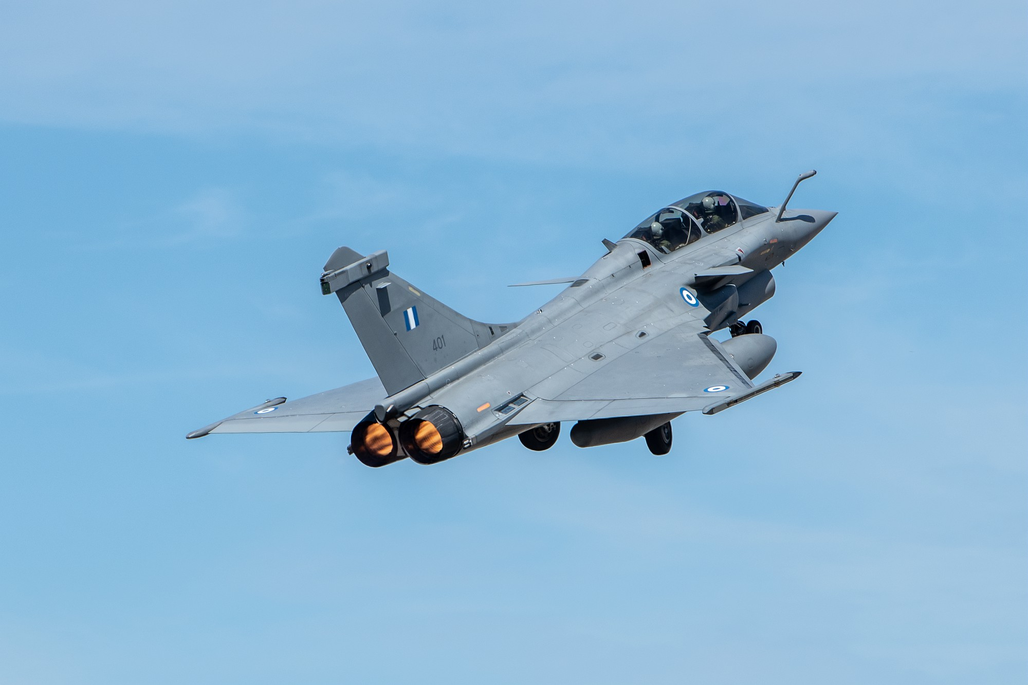 Rafale: Όταν τα γαλλικά μαχητικά πέτυχαν «8-0» εικονικές καταρρίψεις σε τουρκικά F-16