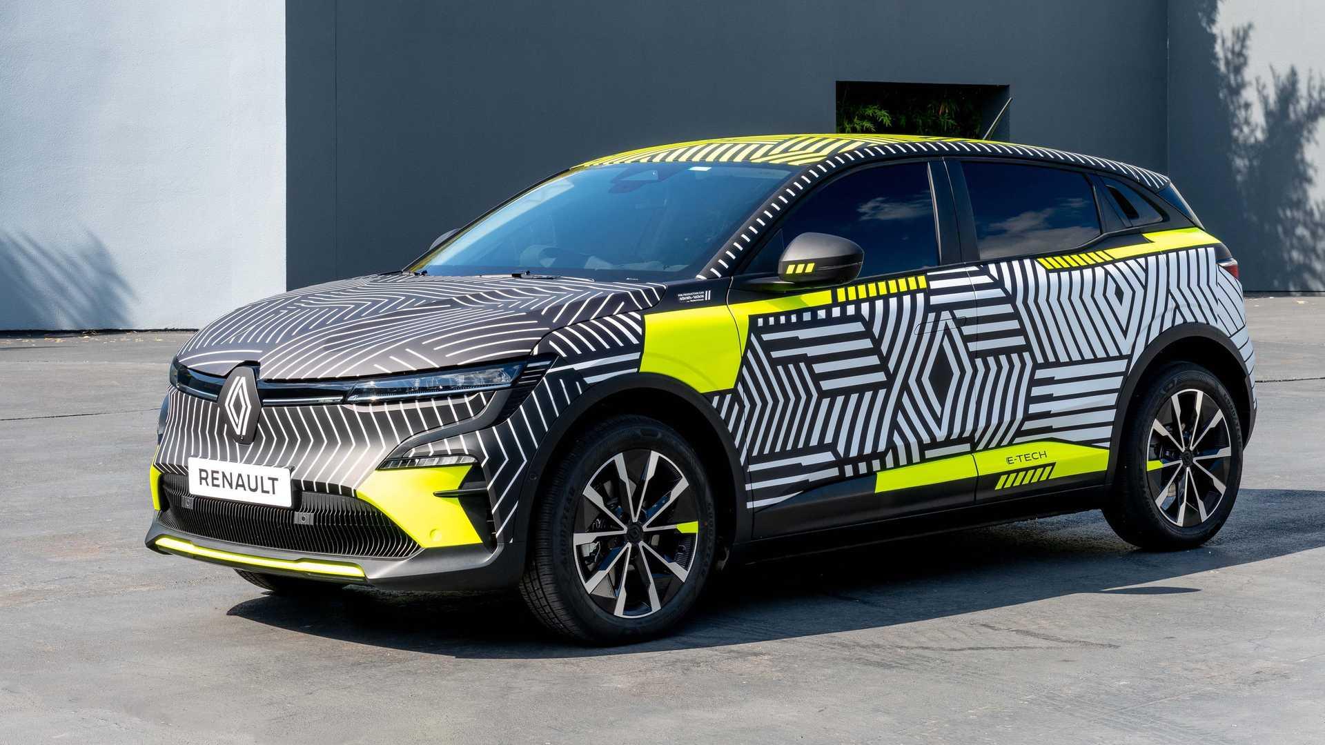 Τον Σεπτέμβριο στο Μόναχο η παρουσίαση του ηλεκτρικού Renault Mégane