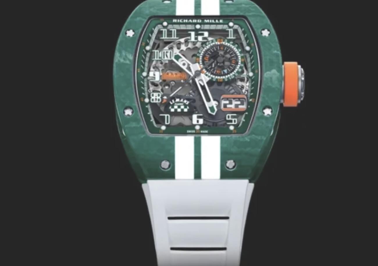 Δείτε το απίστευτο ρολόι του Richard Mille για τον ιστορικό αγώνα αυτοκινήτων Le Mans