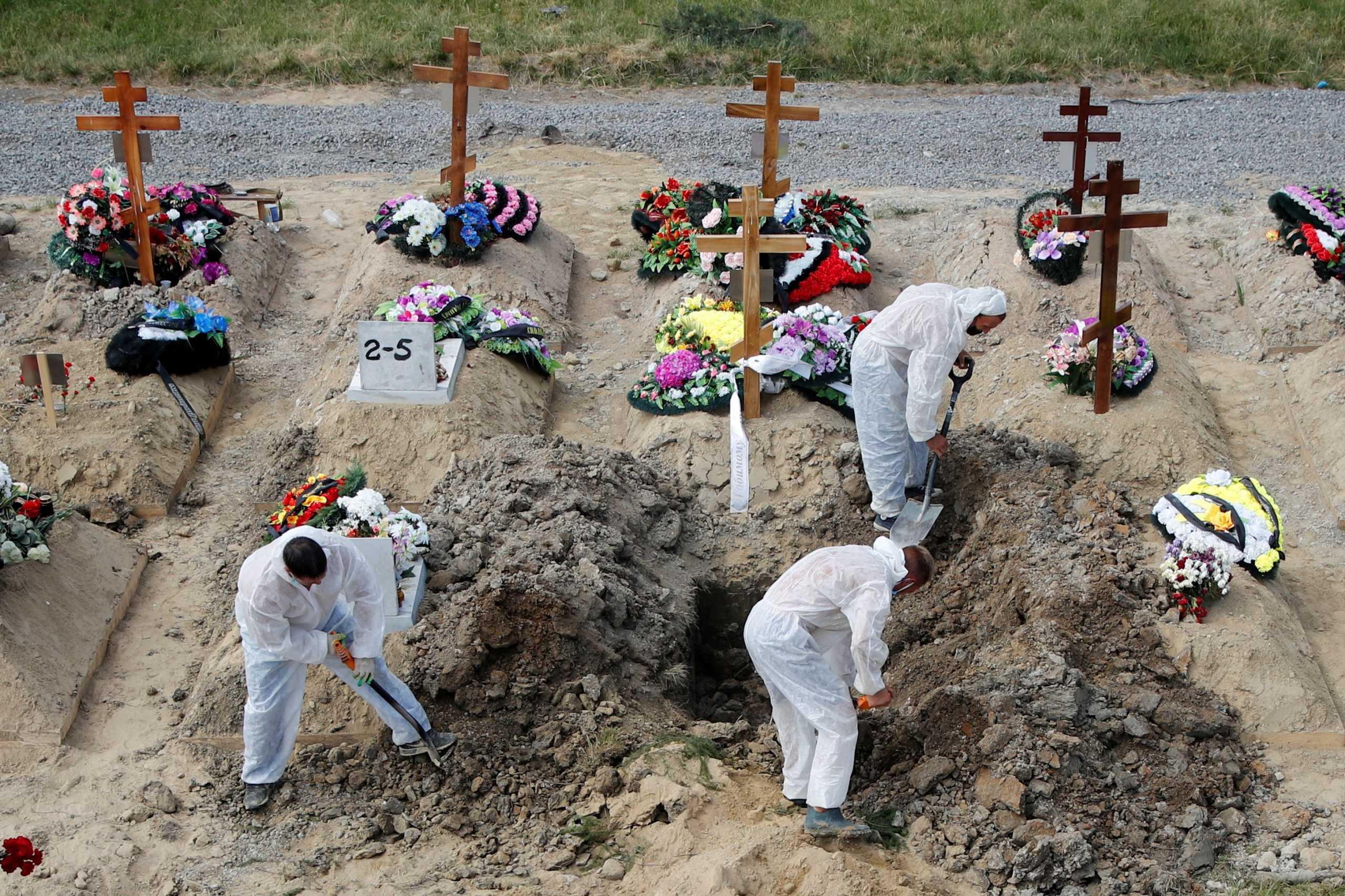 Ρωσία: Σχεδόν 24.000 κρούσματα και 800 θάνατοι το τελευταίο 24ωρο