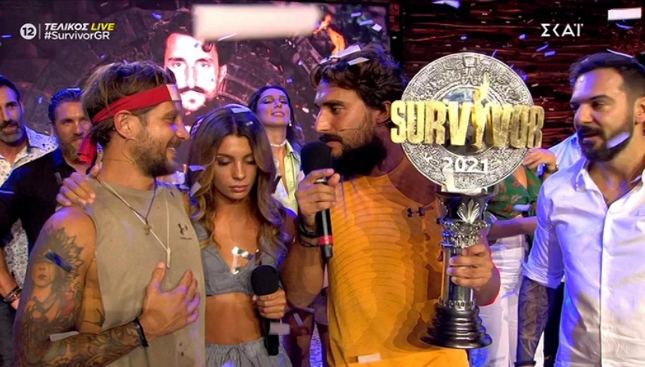 Survivor Τελικός: Ο Σάκης Κατσούλης μεγάλος νικητής