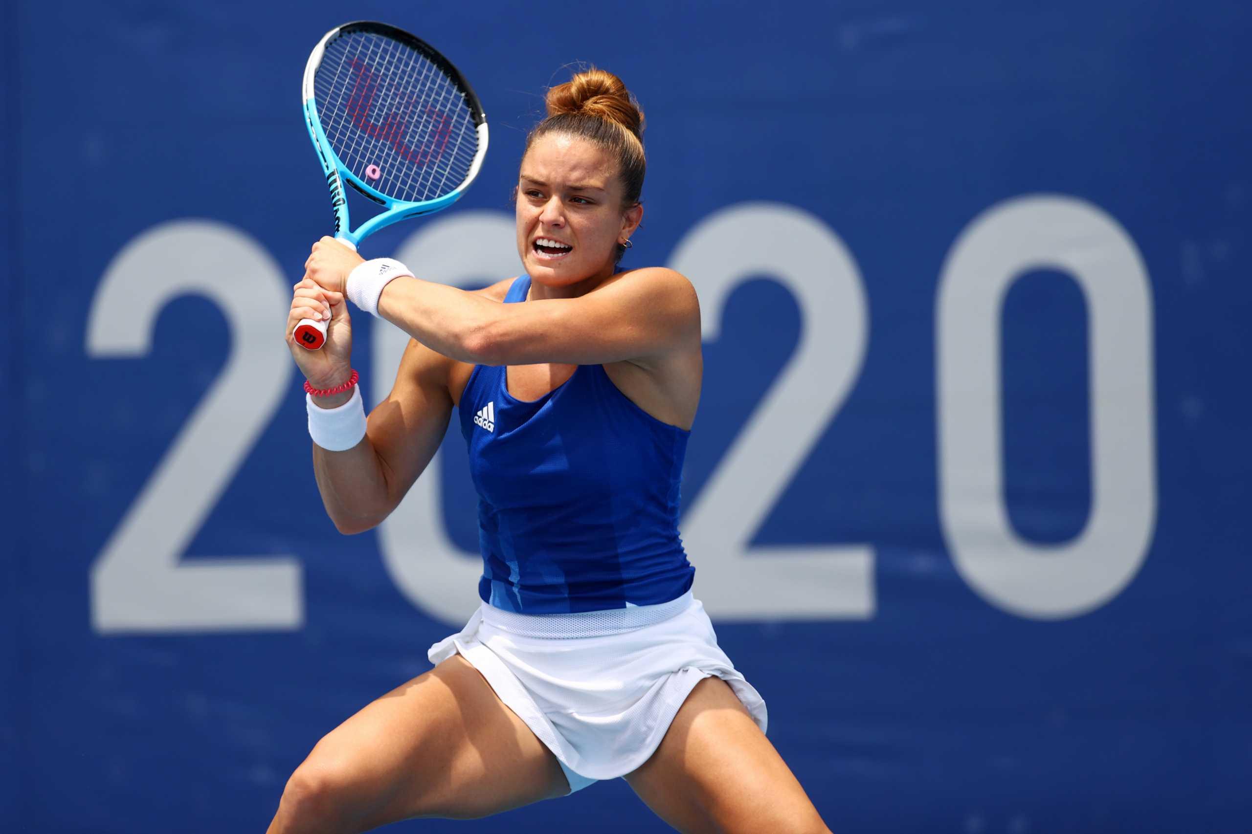 Μαρία Σάκκαρη – Νίνα Στογιάνοβιτς 2-0: Σαρωτική η Ελληνίδα πρωταθλήτρια, προκρίθηκε στη φάση των «16» των Ολυμπιακών Αγώνων