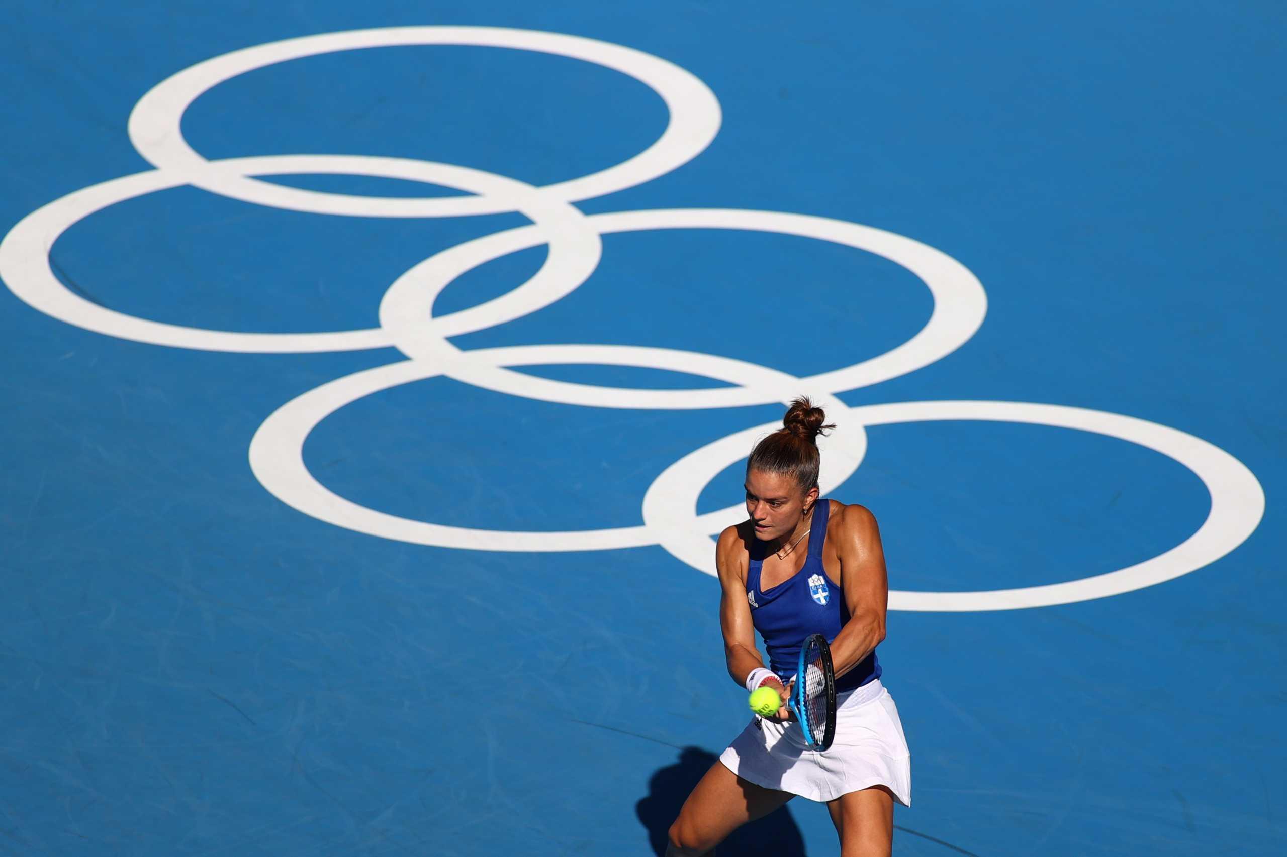 Ολυμπιακοί Αγώνες, Μαρία Σάκκαρη – Ελίνα Σβιτολίνα 1-2 ΤΕΛΙΚΟ