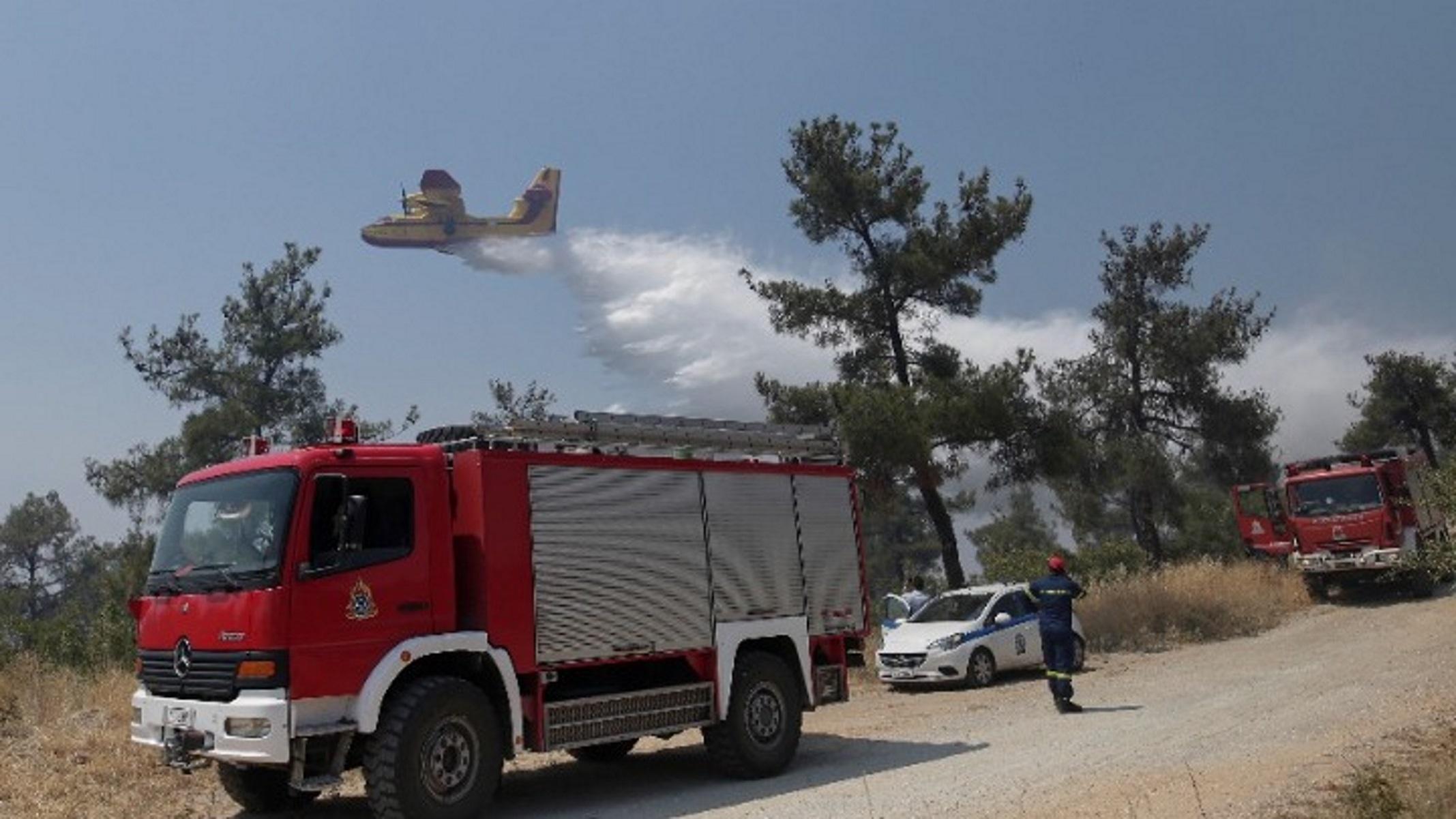 Μεγάλη φωτιά στο Σέιχ Σου: Σε ύφεση η πύρινη λαίλαπα – Ασφαλές το «Φιλίππειο»
