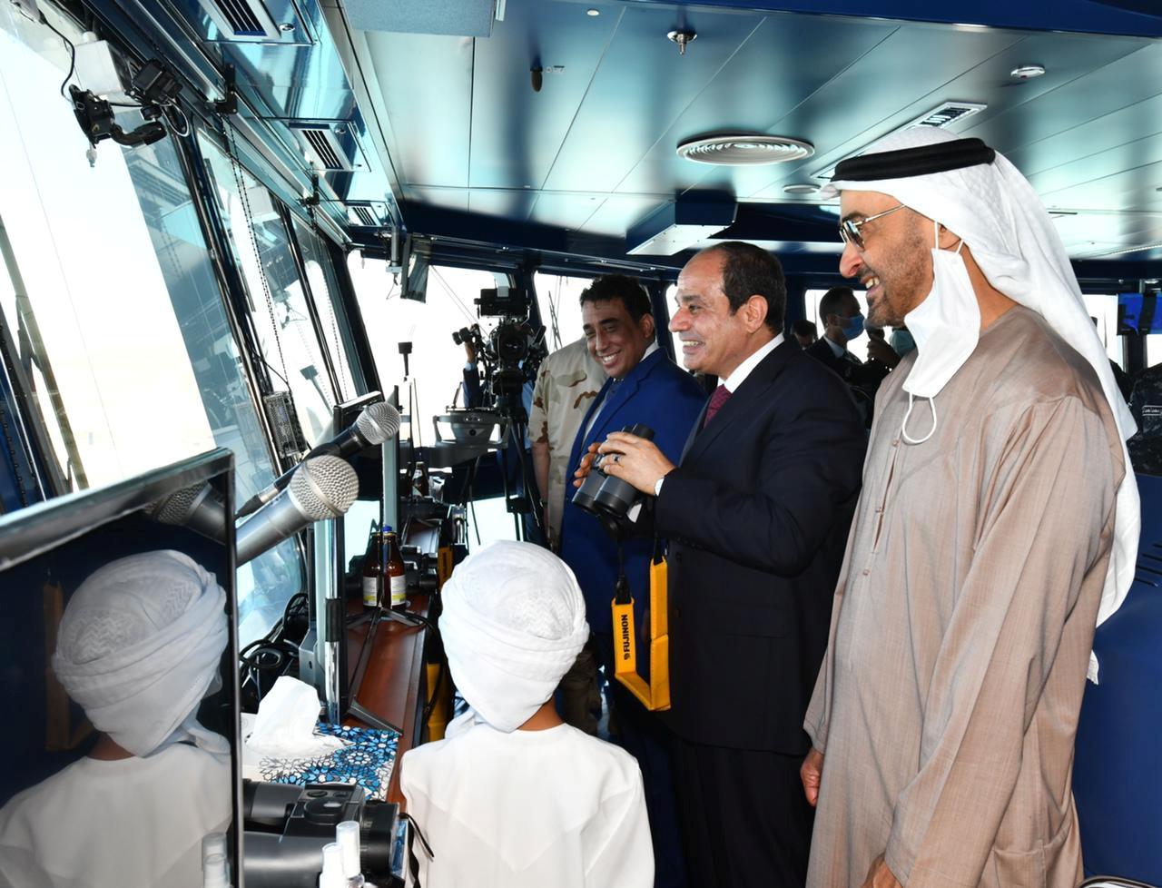 Αίγυπτος: Ο πρόεδρος Σίσι εγκαινίασε ναυτική βάση κοντά στα σύνορα με τη Λιβύη