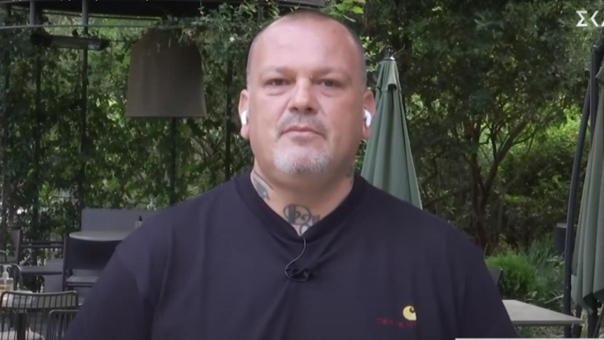 Δημήτρης Σκαρμούτσος: Δεν αισθάνομαι ασφαλής στην κουζίνα με ανεμβολίαστους συναδέλφους